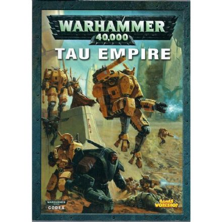 Tau Empire Codex Rulebook 2005